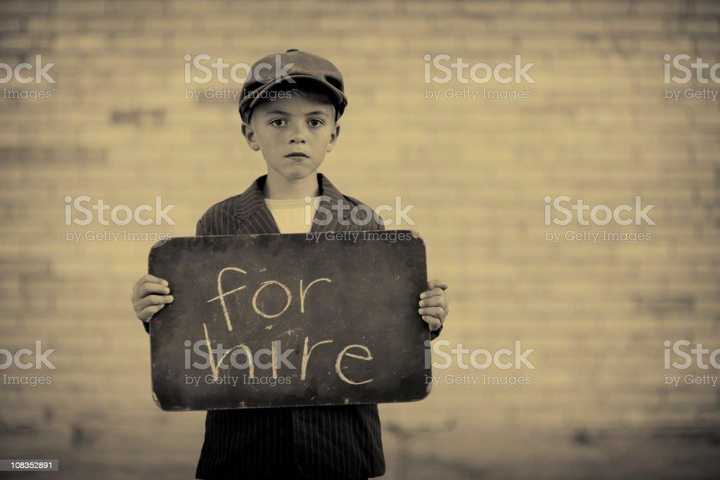 Unemployed stock photo