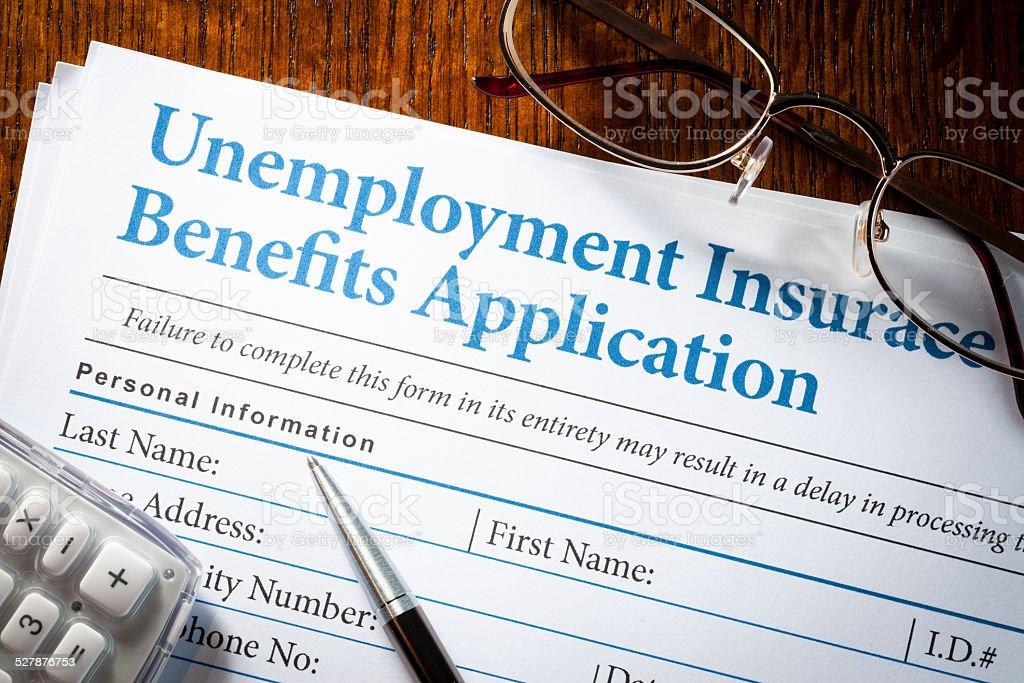 Unemployment Insurance stock photo