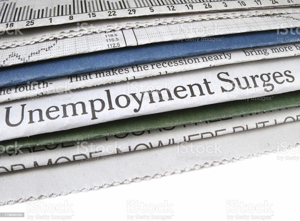 Unemployment Surges stock photo