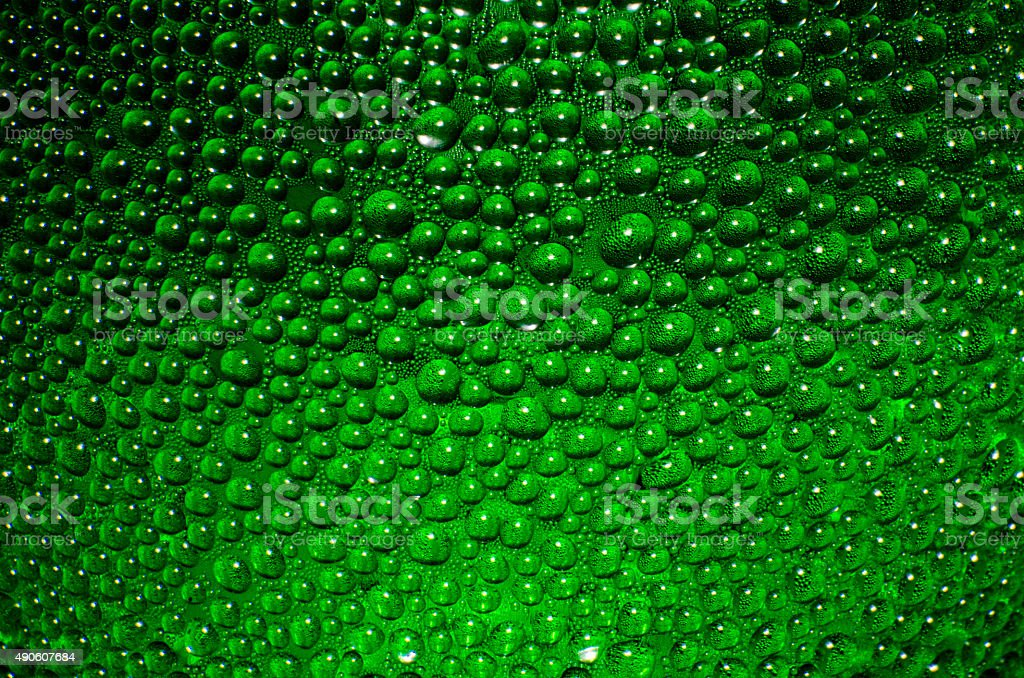 Uneven surfaces green background stock photo