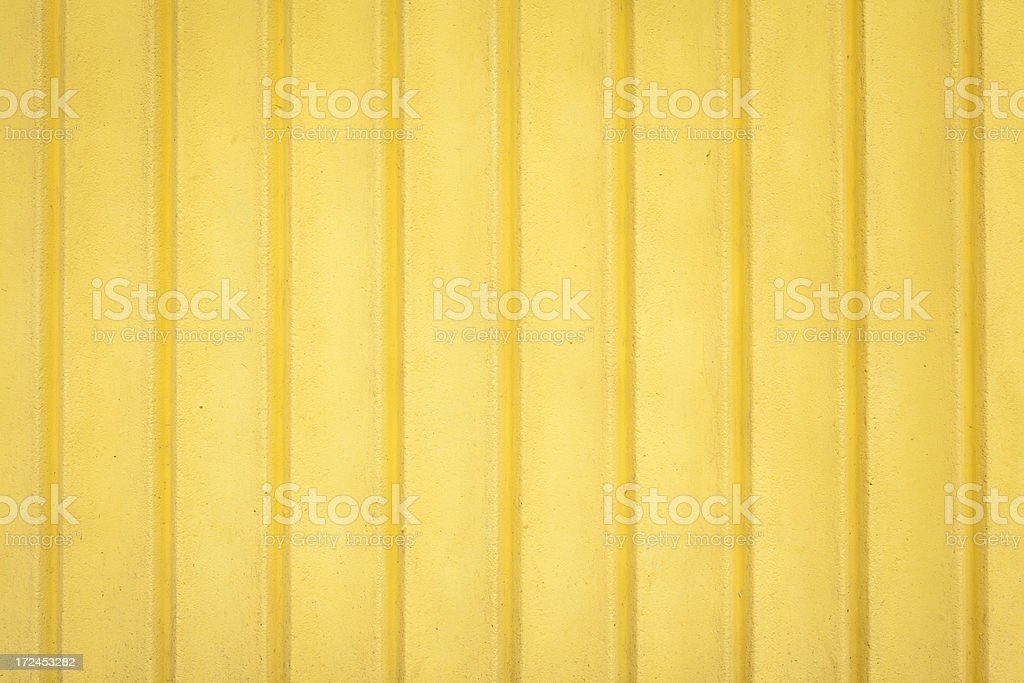 Uneven Yellow Wall Texture royalty-free stock photo