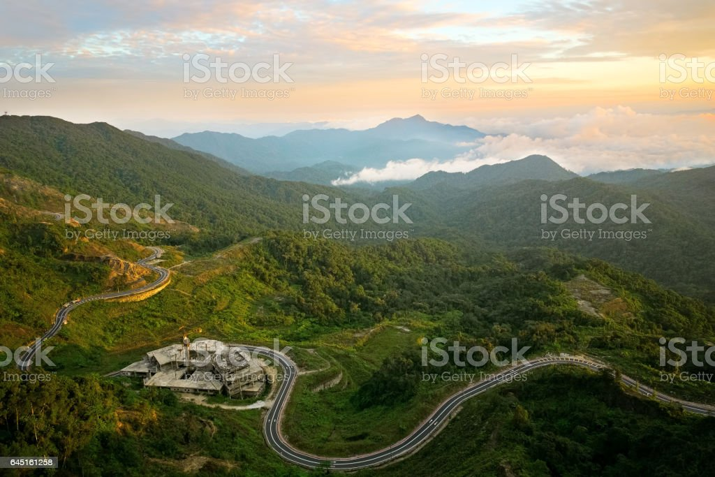 Unfinished Dreams | Titiwangsa Mountains also known as Sankalakhiri Range in Thailand. stock photo
