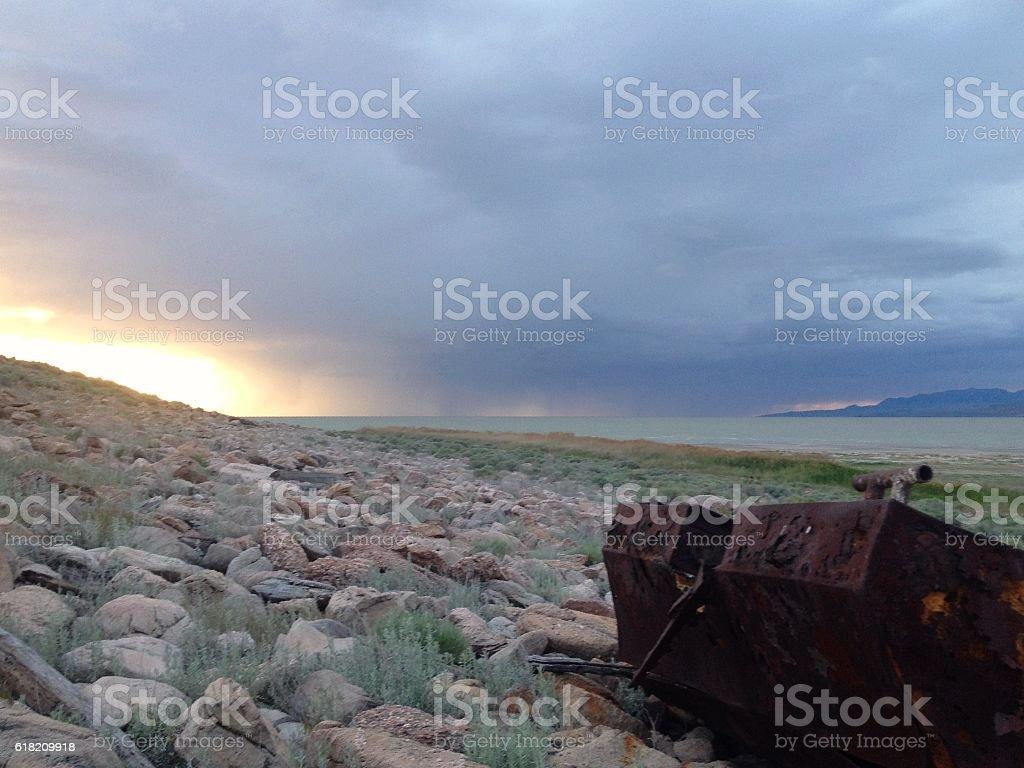 Unfloat stock photo