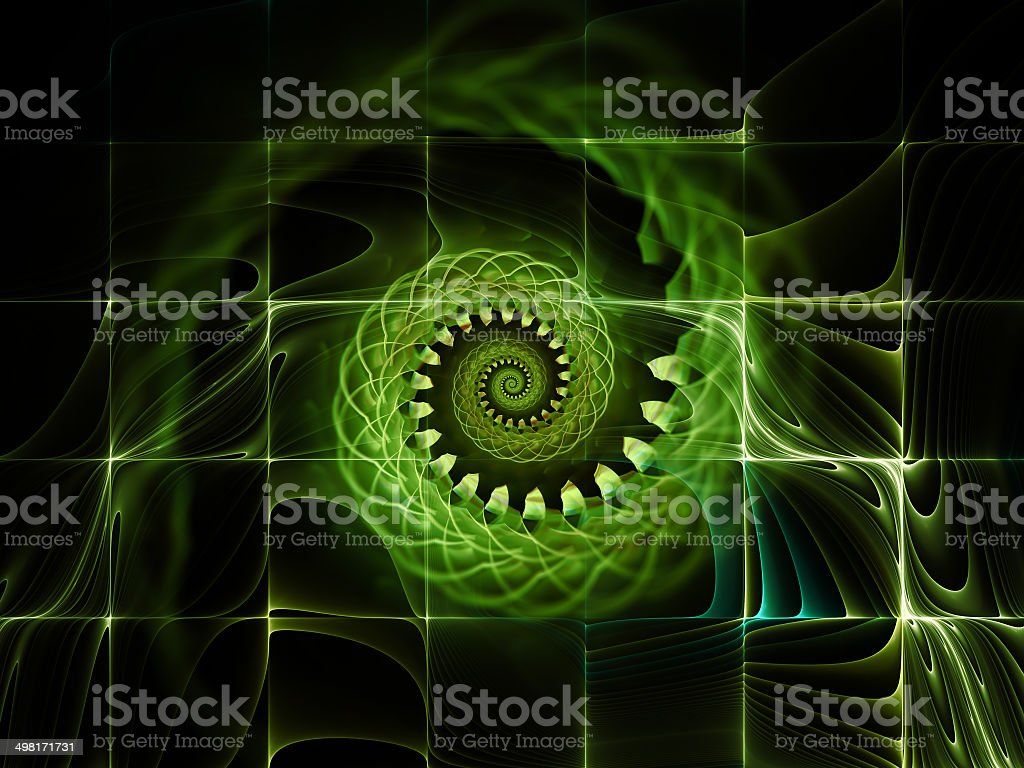Unfolding of Space royalty-free stock photo