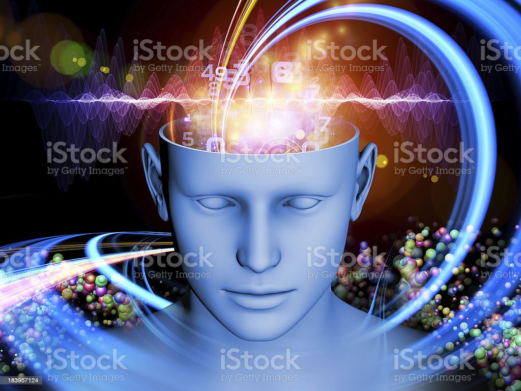 Unfolding of the Mind royalty-free stock photo