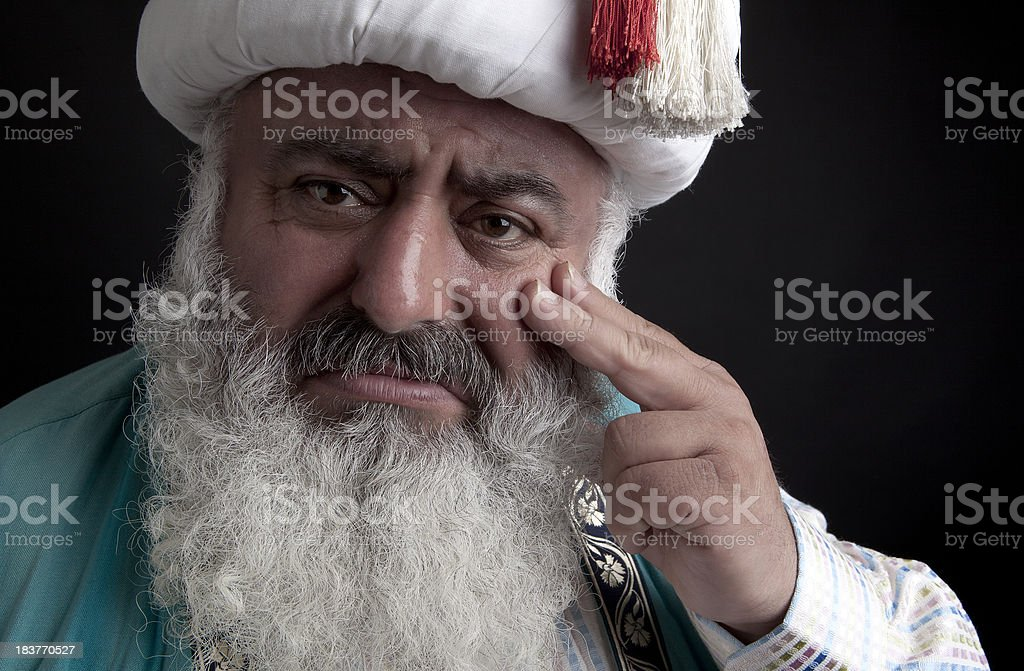 Unhappiness stock photo