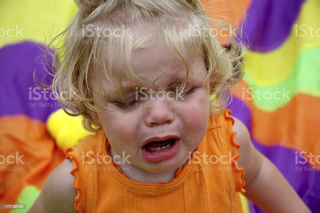 Unhappy Girl royalty-free stock photo