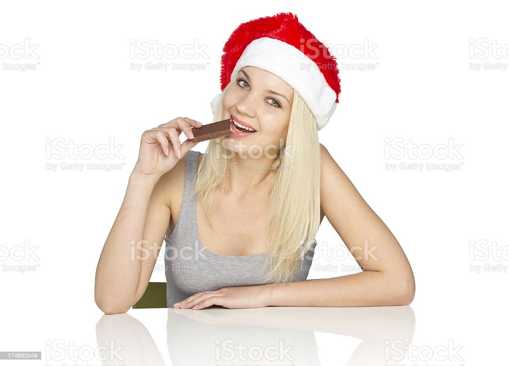 Unhealthy eating stock photo