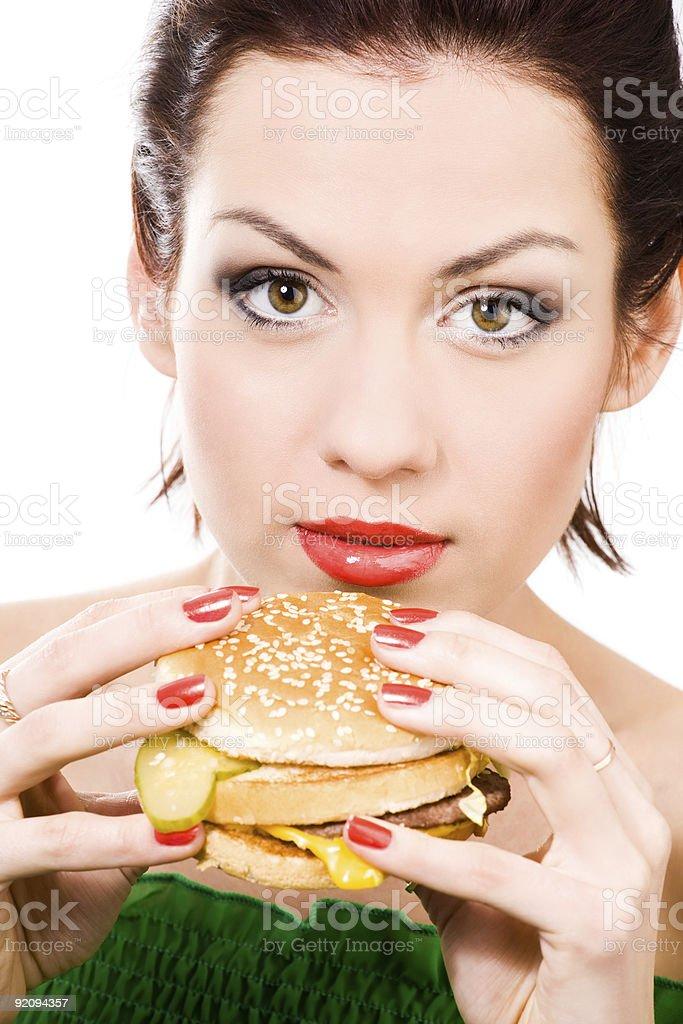 unhealthy food royalty-free stock photo