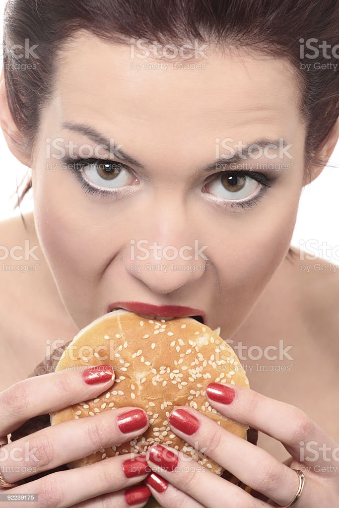 unhealthy food royalty-free stock photo