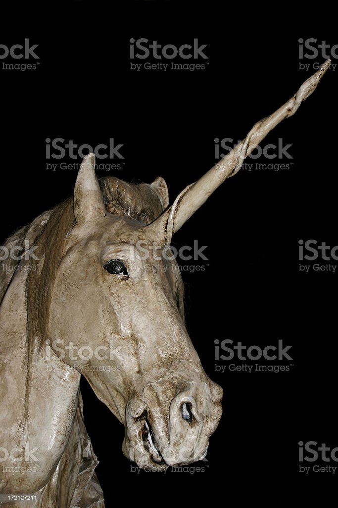 Unicorn legend stock photo
