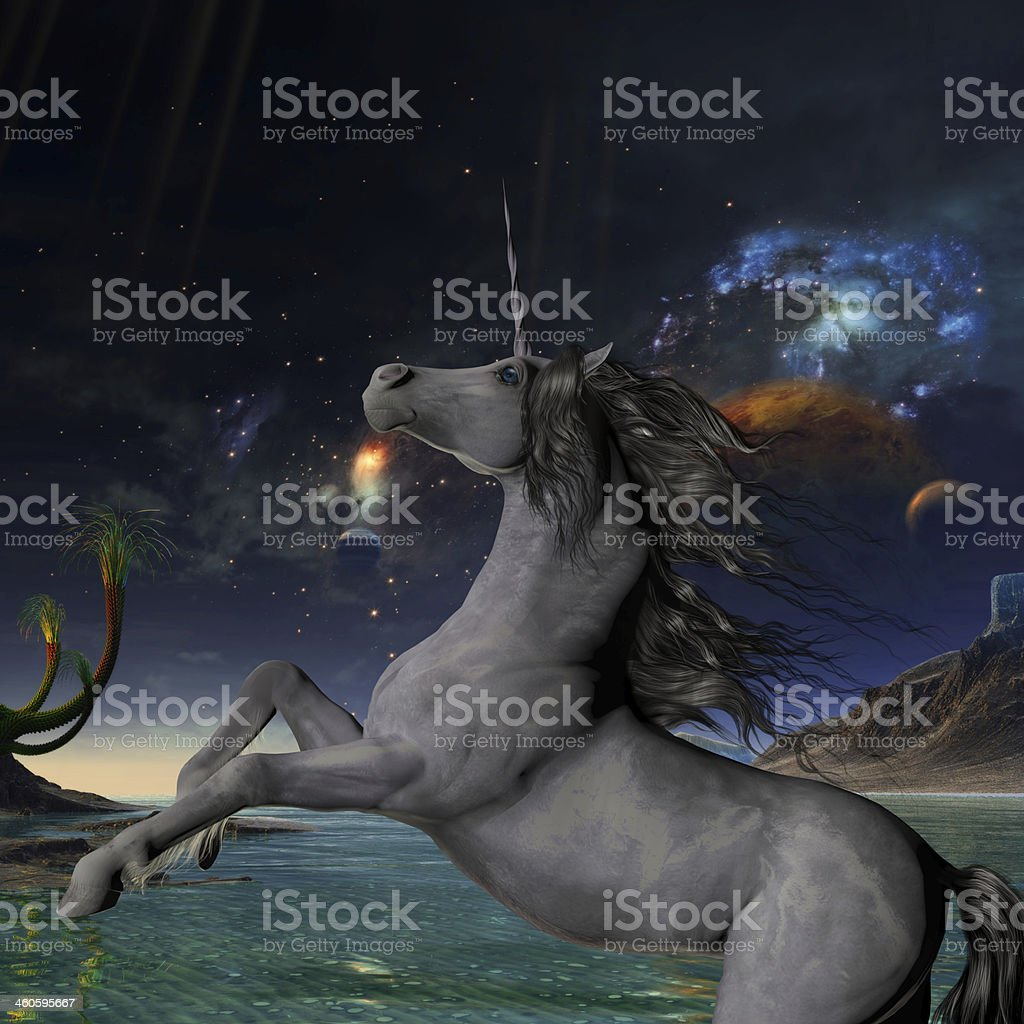 Unicorn Universe stock photo