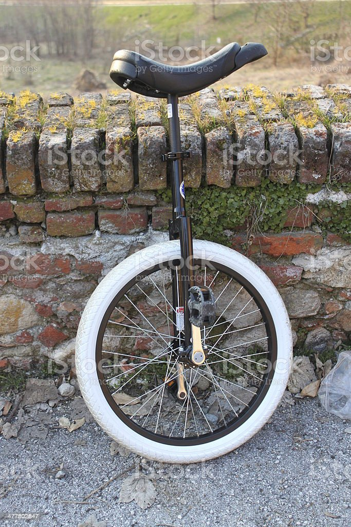 unicycle stock photo