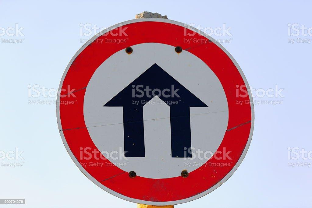 Unidentified road sign near Kombolcha town-Ethiopia. 0507 stock photo