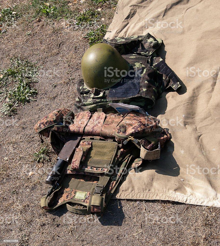 uniforms soldier stock photo