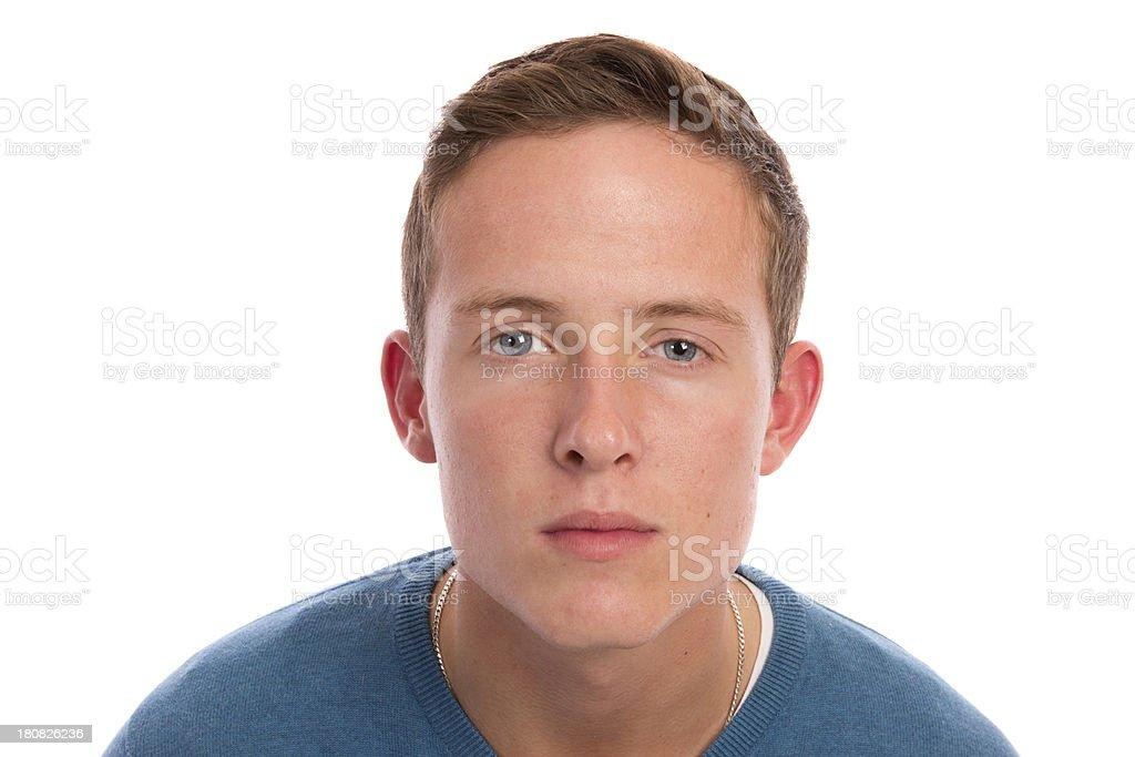 Unimpressed Teenager royalty-free stock photo