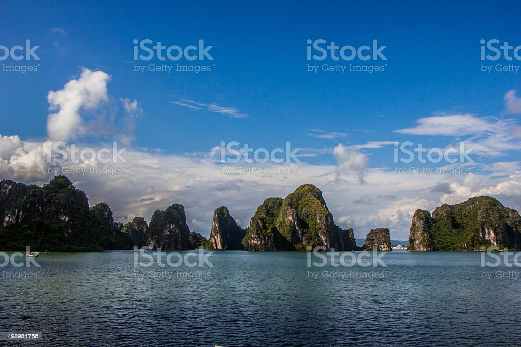 uninhabited islands in the South China Sea stock photo