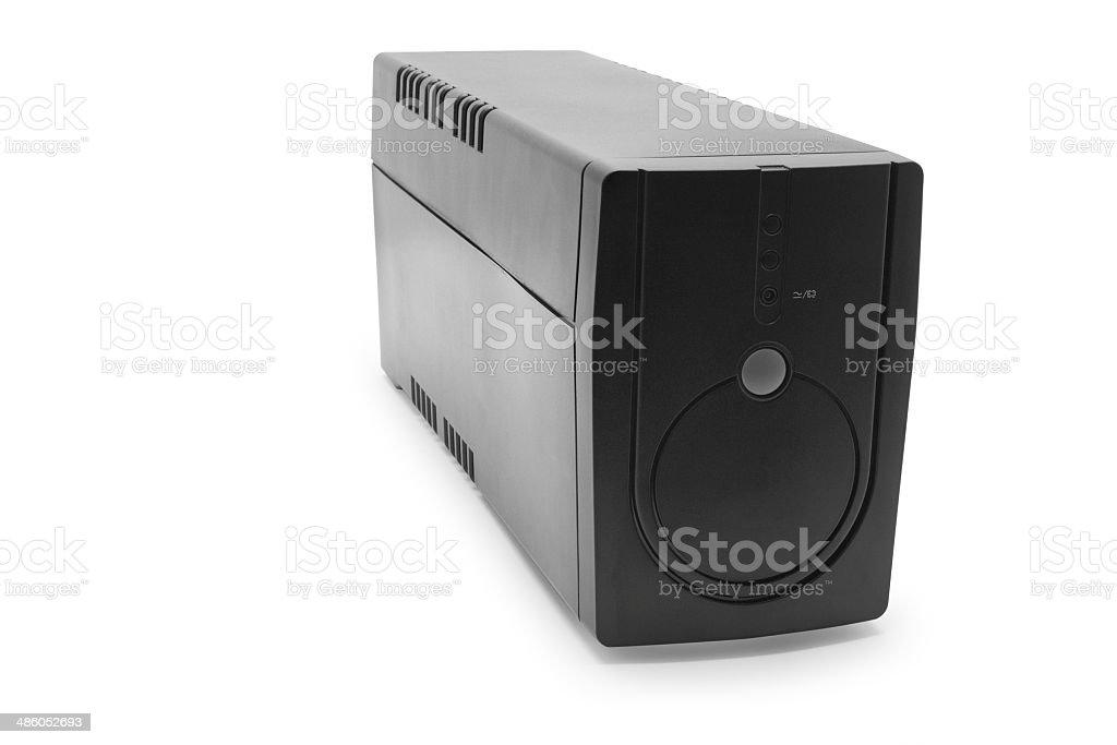 uninterruptible power supply system stock photo