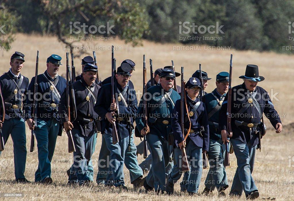Union Army stock photo