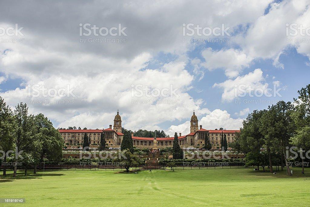 Union buildings in Pretoria stock photo