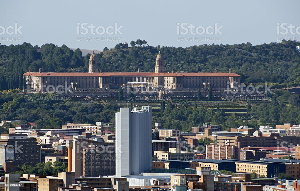 Union Buildings in South Africa stock photo