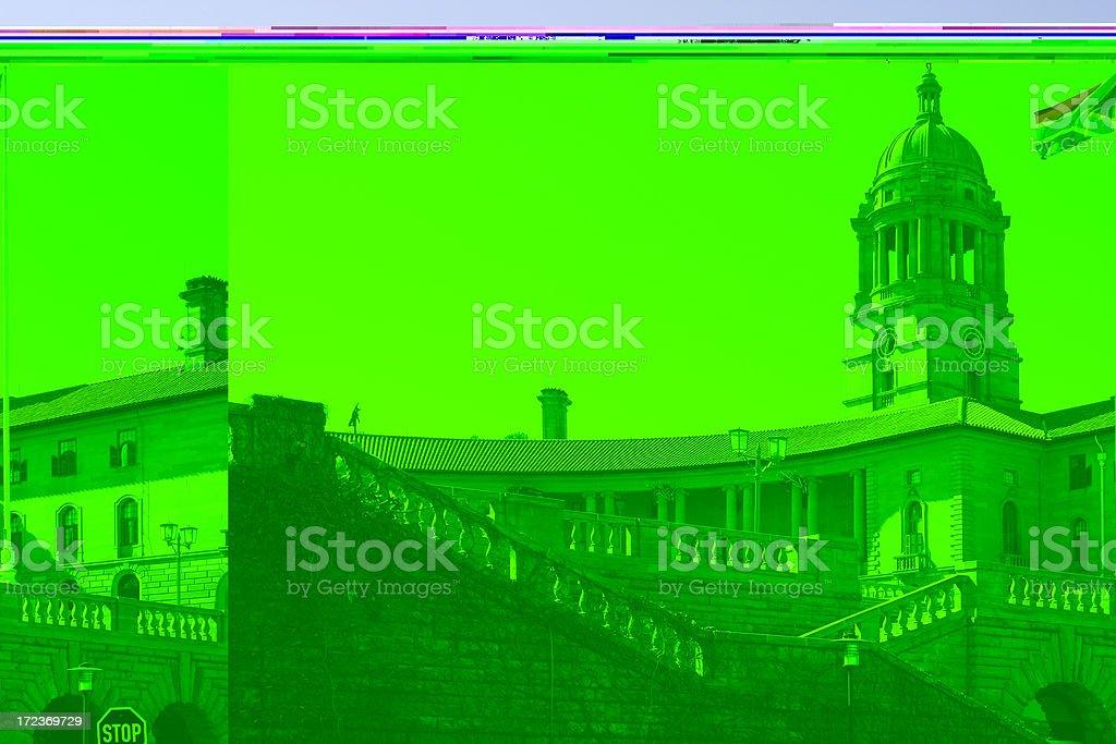 Union Buildings, Pretoria, South Africa three royalty-free stock photo