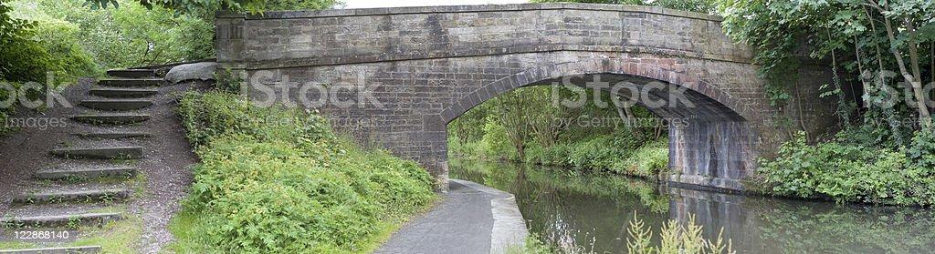 Union Canal Bridge royalty-free stock photo