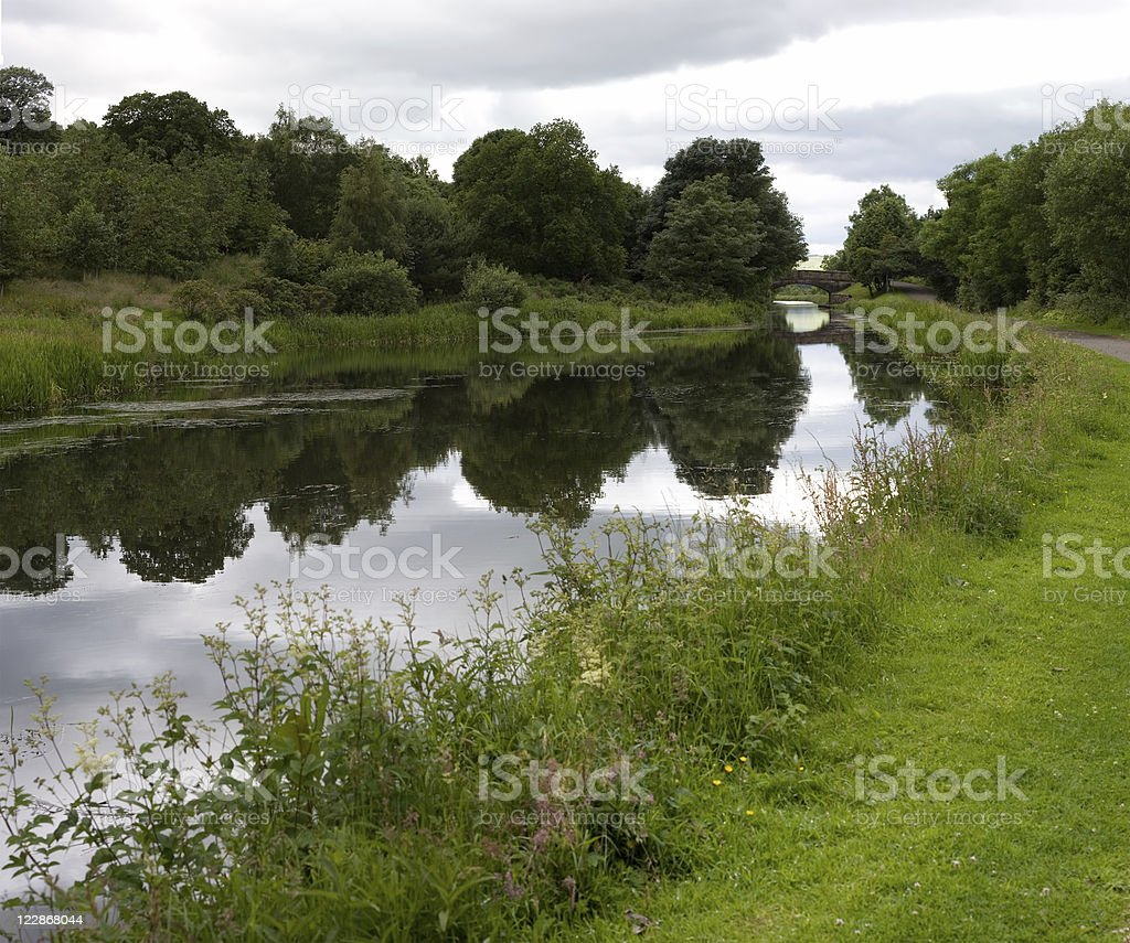 Union Canal royalty-free stock photo