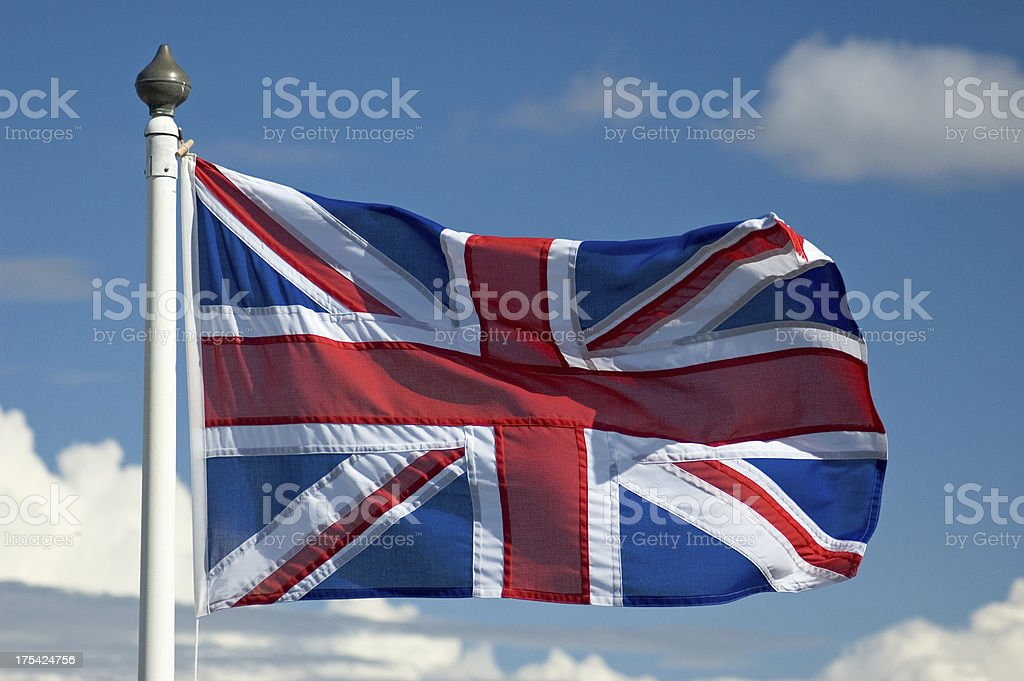 Union Flag royalty-free stock photo