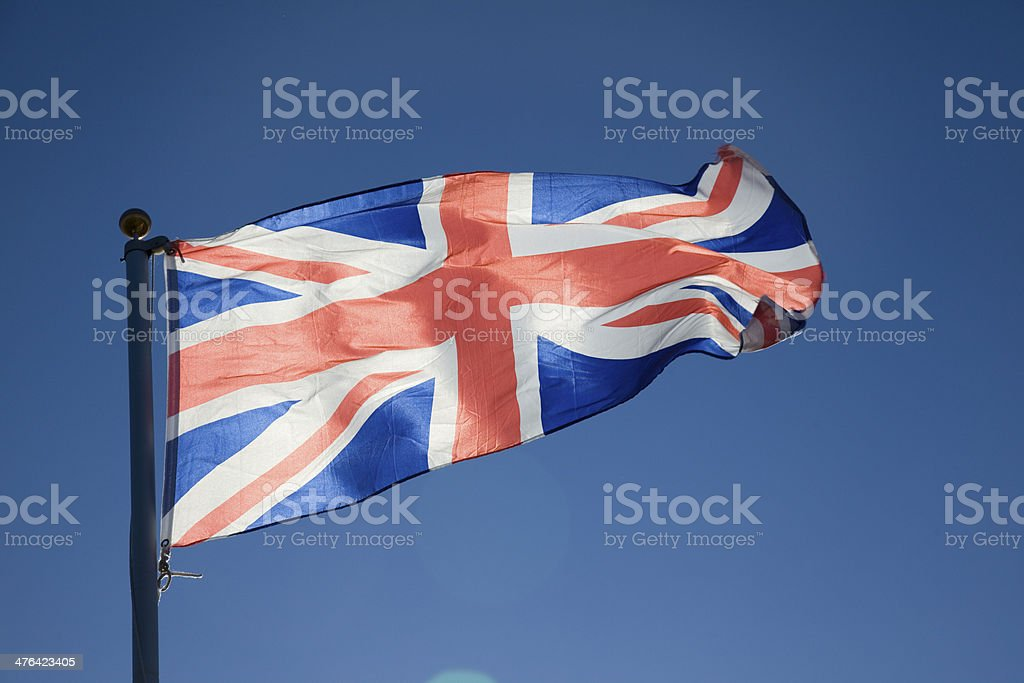 Union Flag royalty-free stock photo