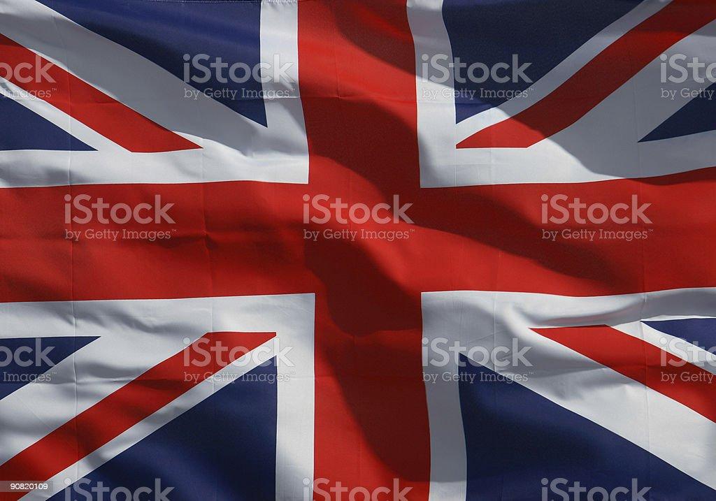 Union Jack Flag royalty-free stock photo