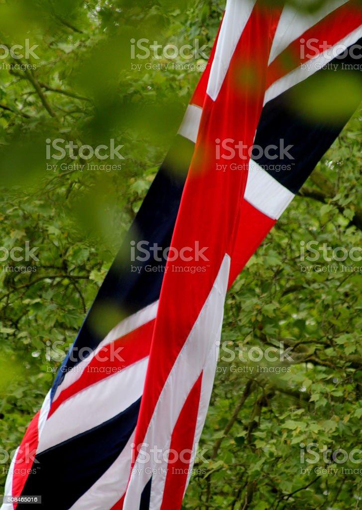 Union Jack Scene stock photo