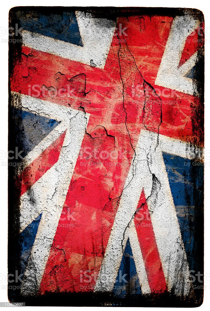 Union Jack XXL royalty-free stock photo