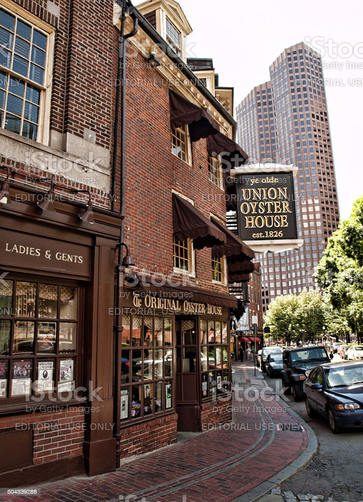 union oyster house stock photo