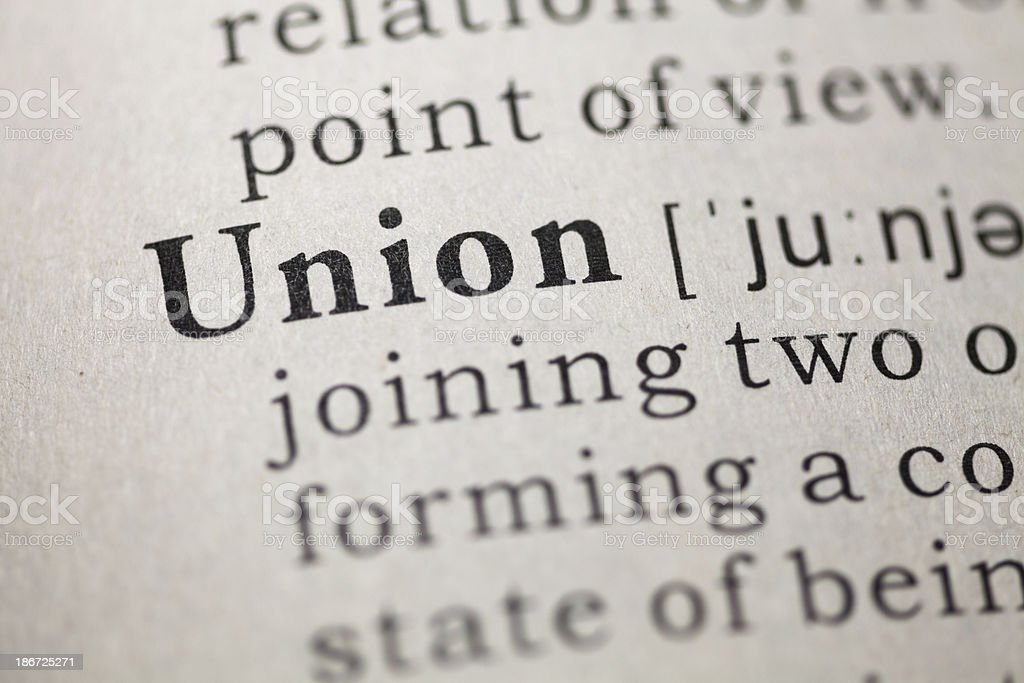 Union stock photo