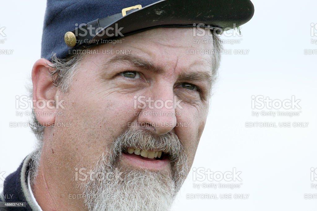 Union portrait stock photo