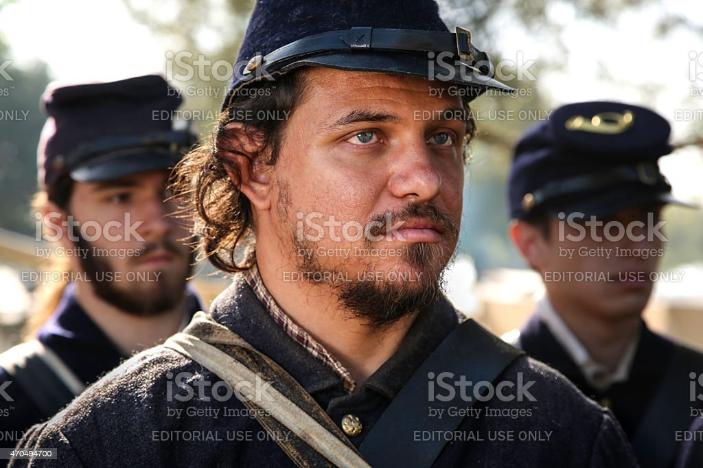 Union Soldier stock photo