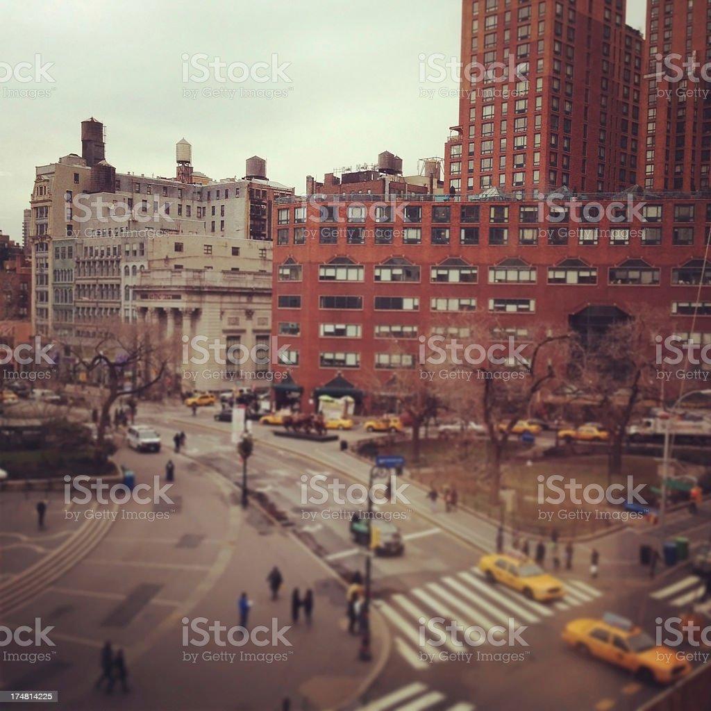 Union Square, New York royalty-free stock photo