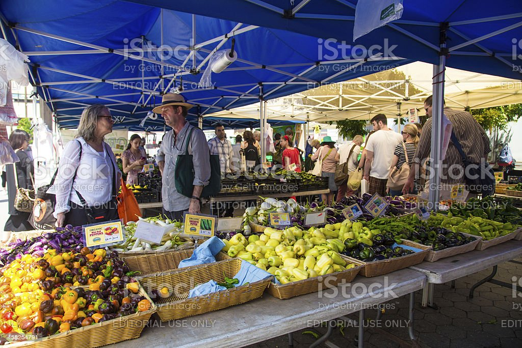 Union Square Produce Market stock photo