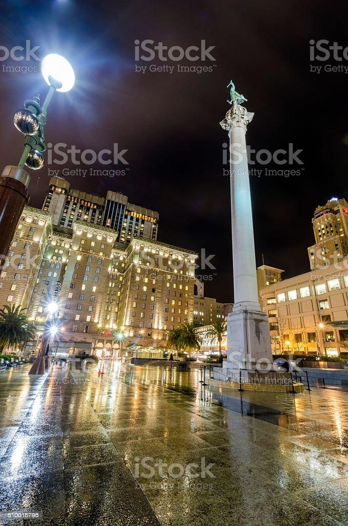Union Square, San Francisco, California stock photo