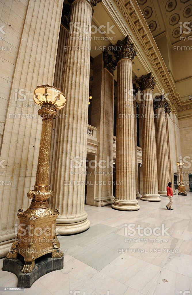 Union Station Chicago royalty-free stock photo