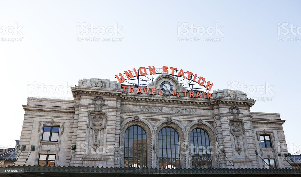Union Station - Denver, Colorado stock photo