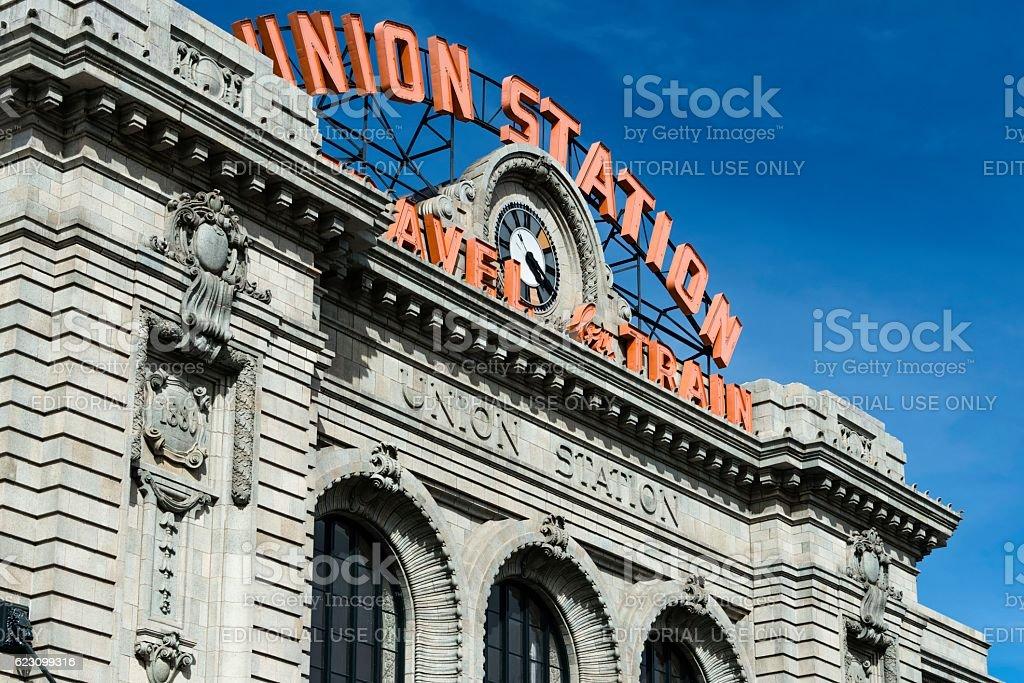 Union Station, Denver, Colorado stock photo