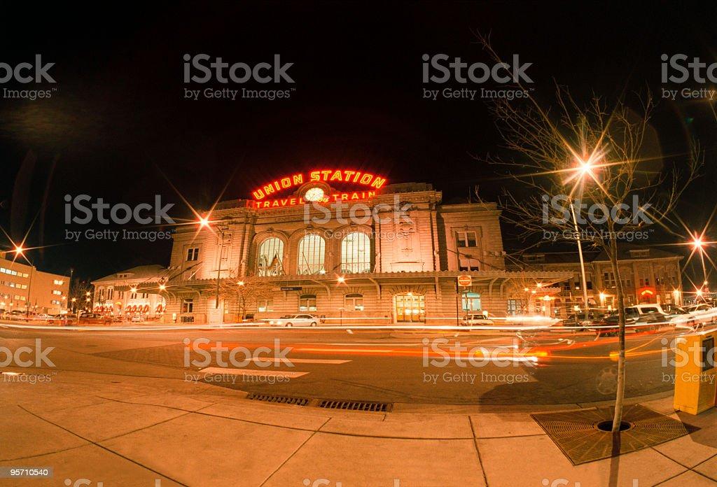 Union Station Denver stock photo