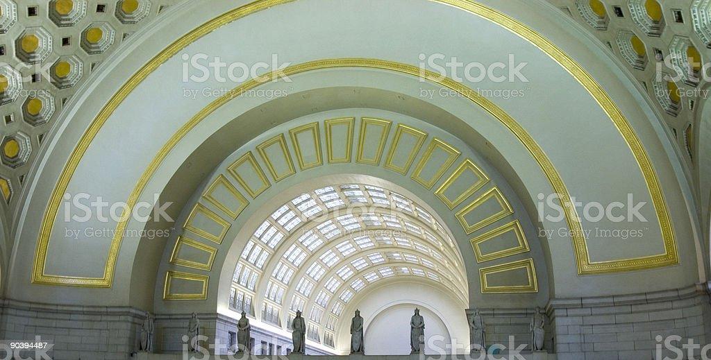 Union Station Detail stock photo