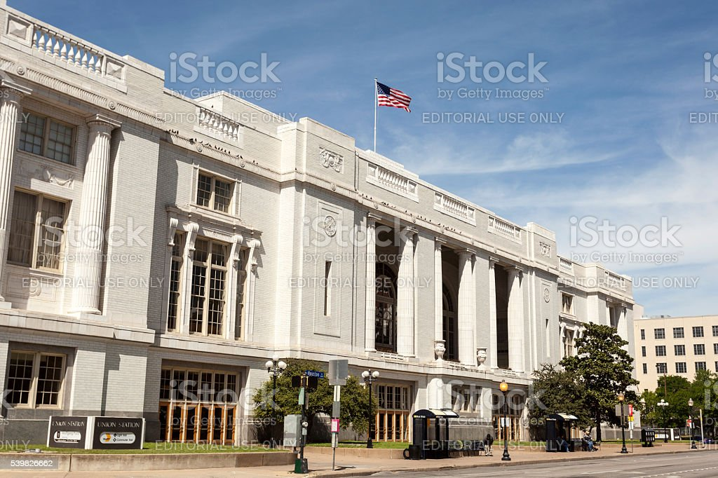 Union Station in Dallas, Texas stock photo