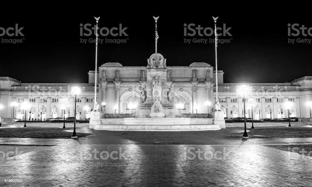 Union Station in Washington DC stock photo