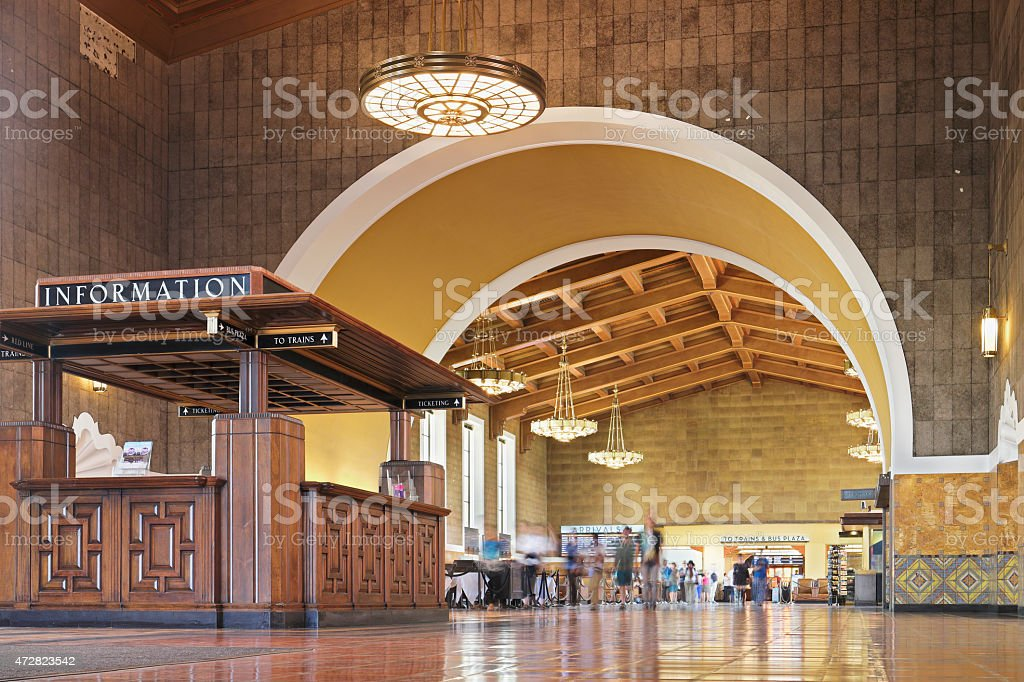 Union Station - Los Angeles stock photo
