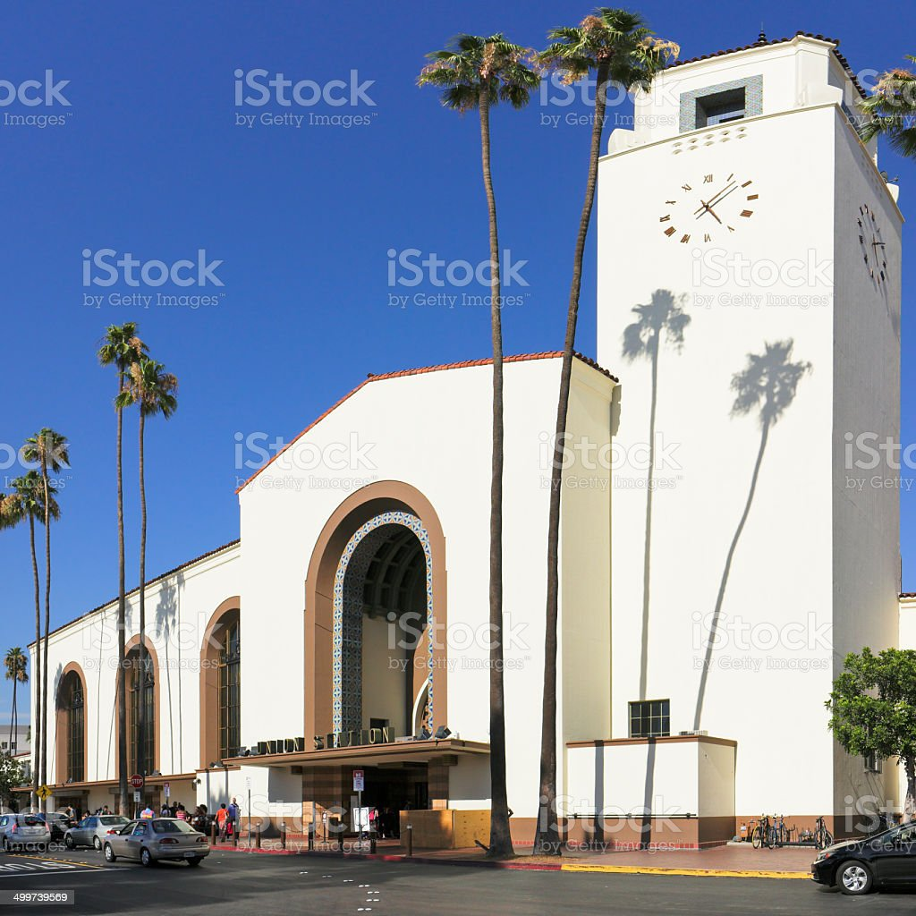 Union Station - Los Angeles royalty-free stock photo