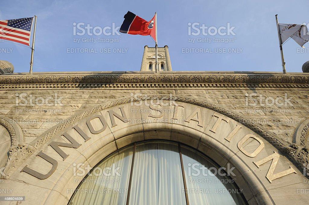 Union Station, Nashville stock photo